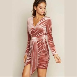 Dresses & Skirts - Velour Mini Dress